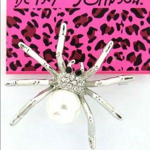 BETSEY JOHNSON~ Bitsey Spider Pin/Brooch